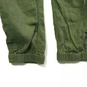 J. Crew Pants - J Crew Point Sur joggers Olive green 100% Cotton